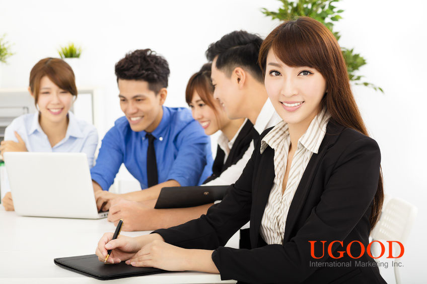 43145754 - young business people working together at  meeting